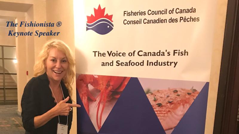 Speaking engagement, Speaker, Keynote Speaker, Fisheries Council of Canada