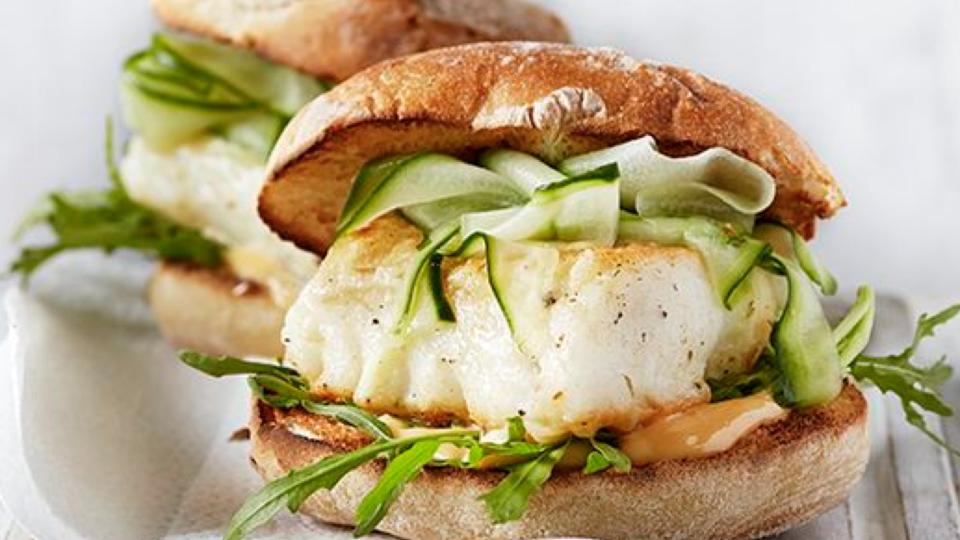 Burger, Seafood Burger, Seafood Sandwich, Healthy Snack