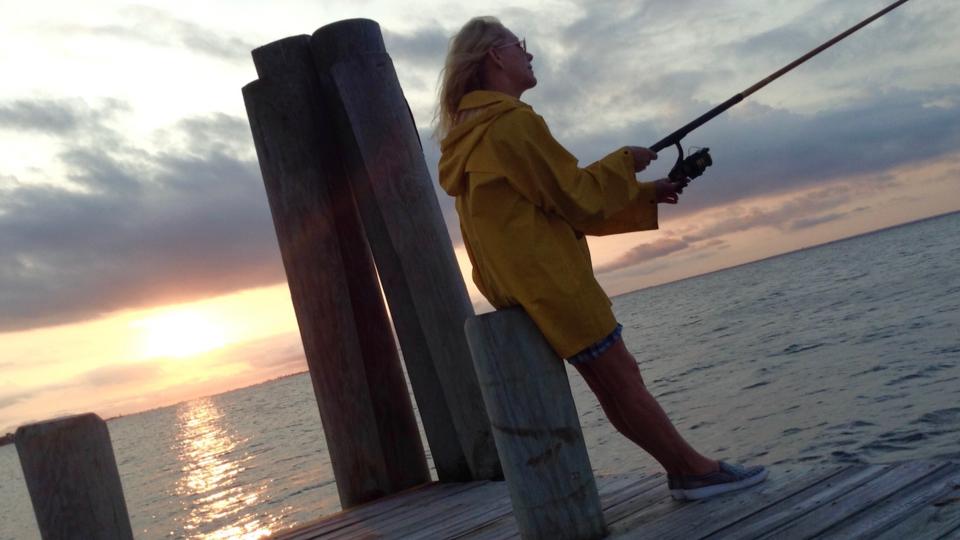 Fishing, Fishionista, Fire Island, Michael-Ann Rowe