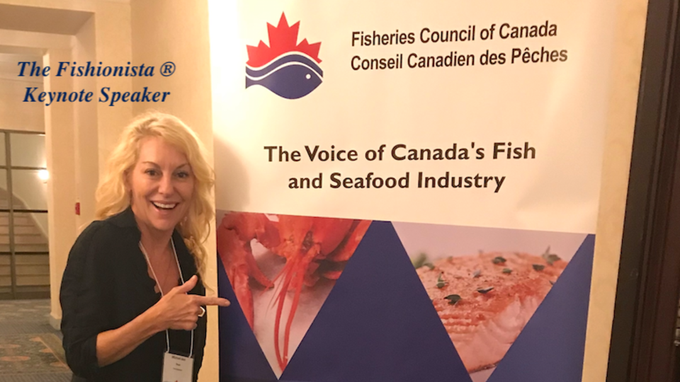 Speaking engagement, Speaker, Keynote Speaker, Fisheries Council of Canada